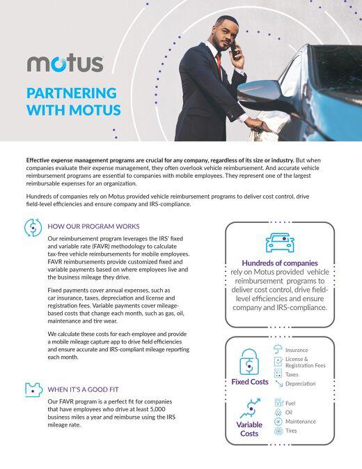 Partnering With Motus - CPM