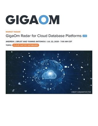 GigaOm Radar Report for Cloud Database Platforms