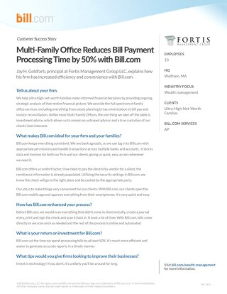 Case Study - Fortis