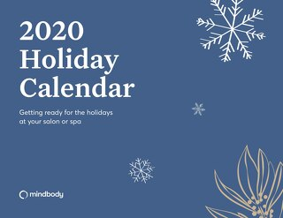 2020 Calendar: Getting Ready for the Holidays at Your Salon or Spa