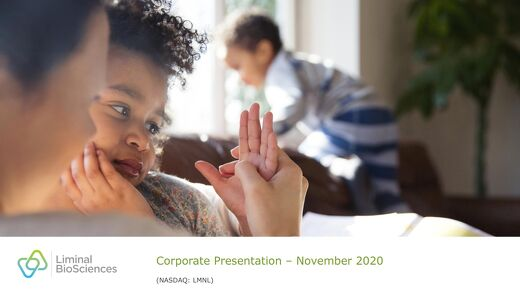 LMNL Corporate Presentation September