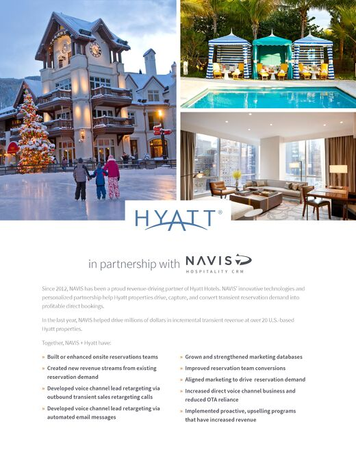 Hyatt Partnership Brochure
