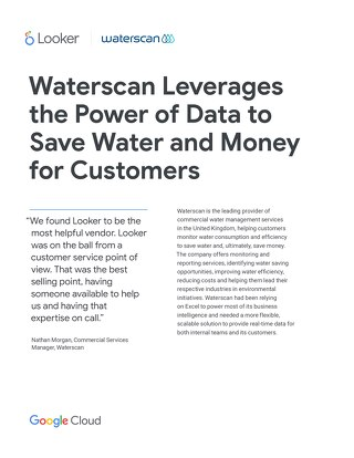 Waterscan leverages the power of data to save water and money for customers