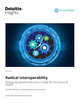Deloitte + Snowflake -Radical Interoperability