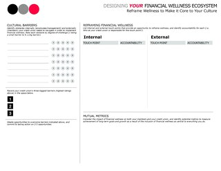 Designing Your Financial Wellness Ecosystem Worksheet