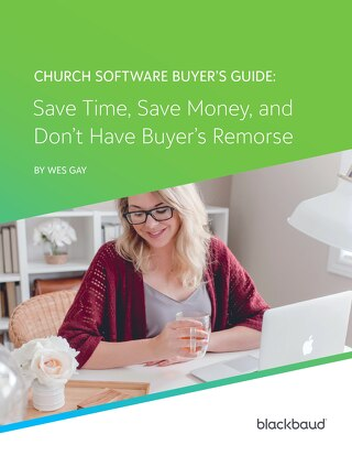 Church Software Buyer's Guide Ebook
