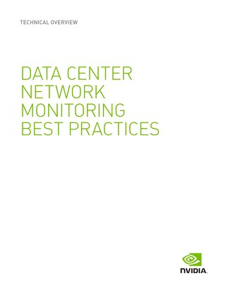 Data Center Network Monitoring Best Practices