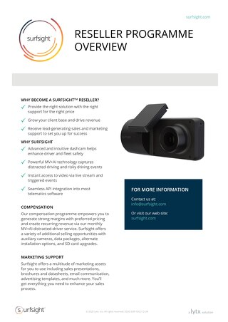 Surfsight Reseller Program UK