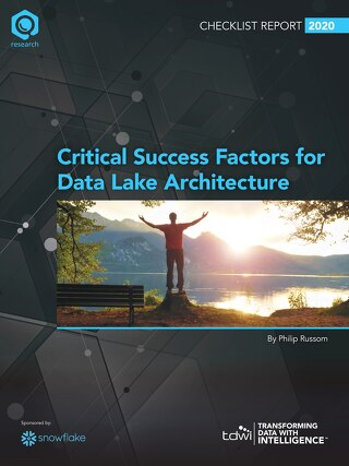 Critical Success Factors for Data Lake Architecture