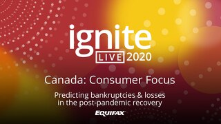 IgniteLIVE2020 Predicting Bankruptcies & Losses In The Post-Pandemic Recovery