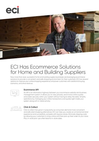 Ecommerce Solutions for Home and Buildings Suppliers