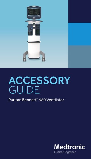 ACCESSORY GUIDE: Puritan Bennett™ 980 Ventilator