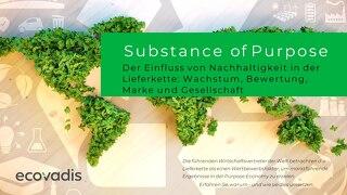 Substance of Purpose - Der Einfluss von Nachhaltigkeit in der Lieferkette: Wachstum, Bewertung, Marke und Gesellschaft