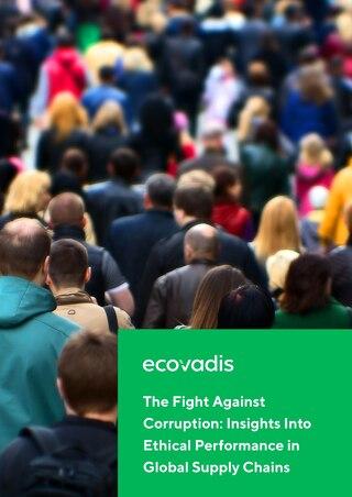 EcoVadis Studie zu Antikorruptionsmaßnahmen in Lieferketten
