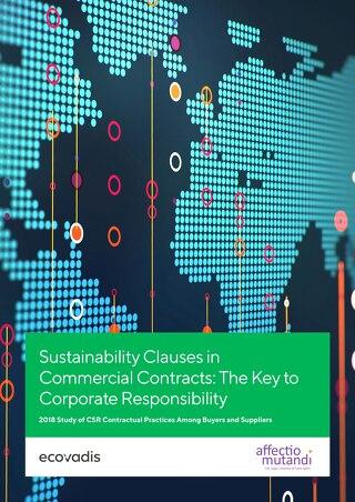 EcoVadis Studie zu CSR-Vertragsklauseln