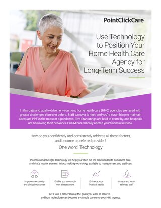 Use Technology to Position Your Home Health Care Agency for Long-Term Success