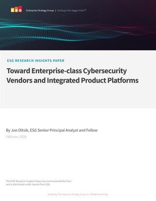 Enterprise-Class Cybersecurity Research from Cisco