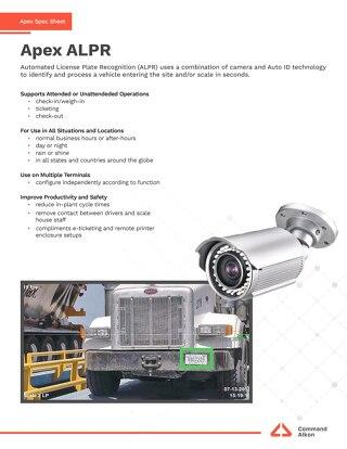 Apex ALPR Spec