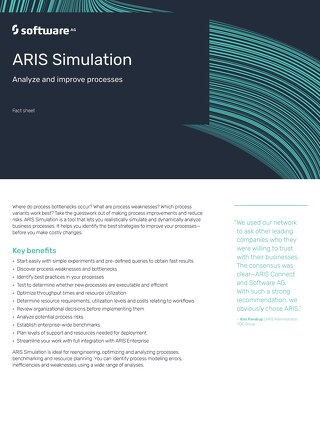 Fact Sheet: ARIS Simulation