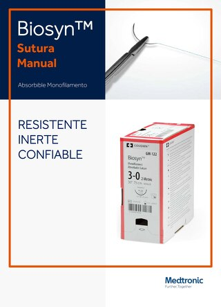 Biosyn™ - Sutura Absorbible