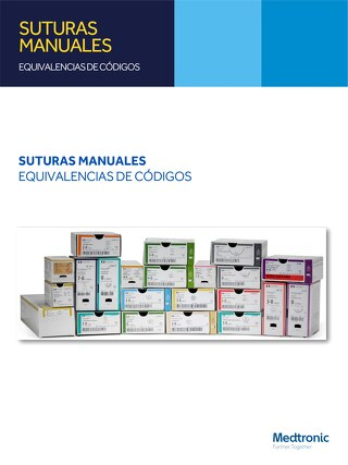 Equivalencias de Suturas Manuales