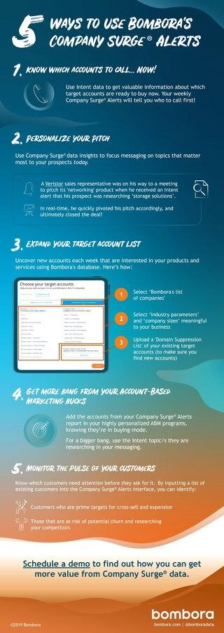 5 ways to use Company Surge Alerts