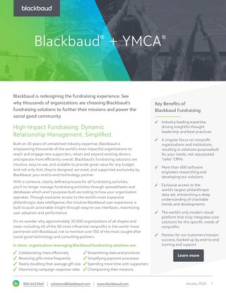 YMCA Fundraising Solutions