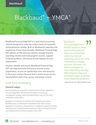 YMCA Financial Solutions