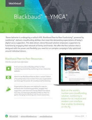 YMCA Peer-to-Peer