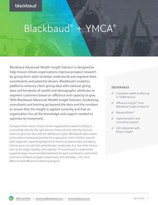 YMCA Advanced Analytics