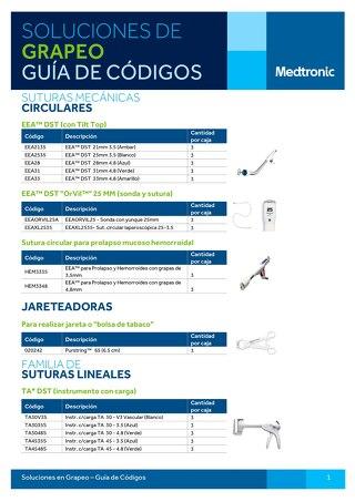 Guía de Códigos de Grapeo