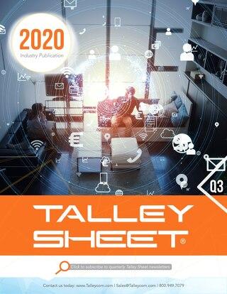 Q3 Talley Sheet 2020
