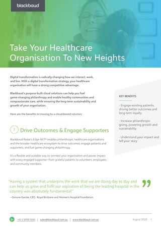 Take Your Healthcare Organisation To New Heights