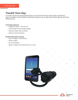 TrackIt TurnKey Spec