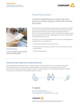 Prompt Pay Solution