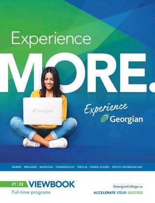 Georgian College Viewbook 2021 2022