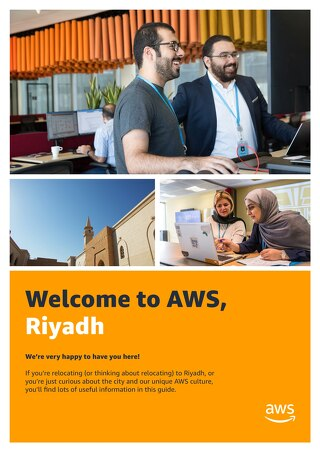 Welcome to AWS, Riyadh