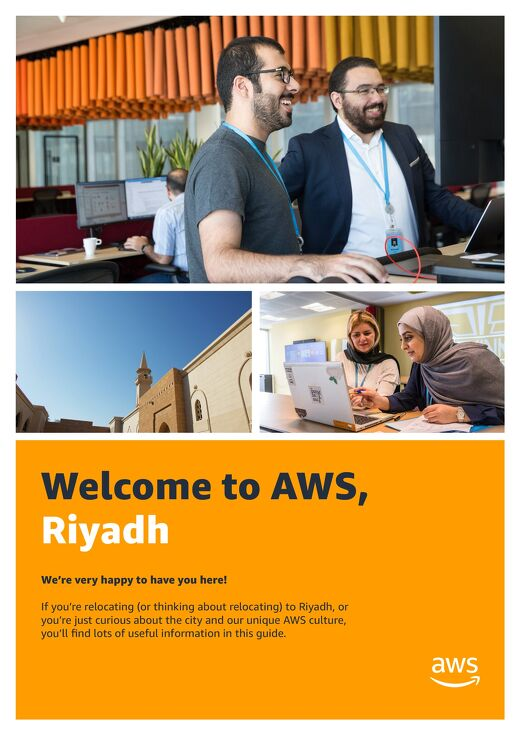 Welcome to AWS, Riyadh
