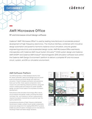 AWR Microwave Office