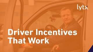 Driver Incentives That Actually Work