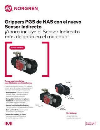 Spanish - Indirect Gripper Sensor