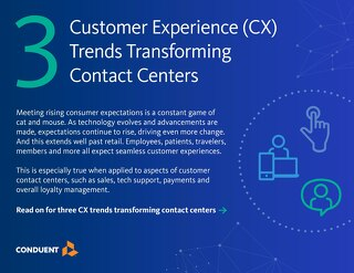 3 Customer Experience (CX) Trends Transforming Contact Centers