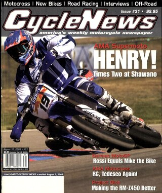 Cycle News 2005 08 10