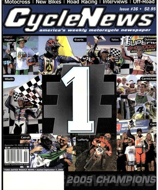 Cycle News 2005 09 14