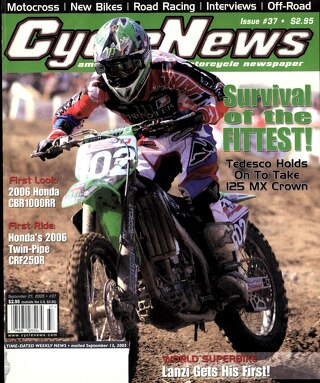 Cycle News 2005 09 21