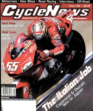 Cycle News 2005 09 28