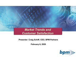 BPM Partners SKO Feb 2020 Vendor Satisfaction 2020