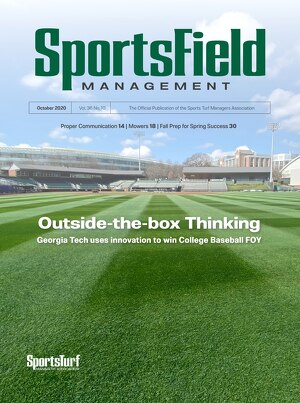 SportsField Management - October 2020