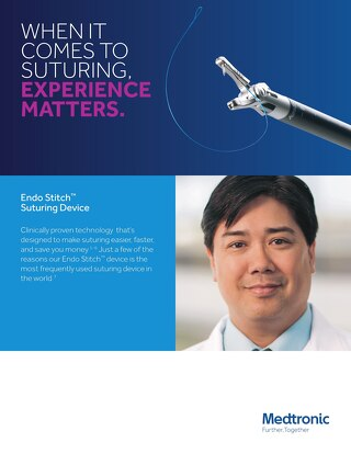 Info Sheet: Endo Stitch™ Suturing Device
