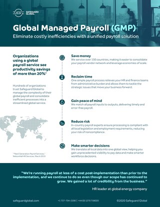 Global Managed Payroll (GMP)